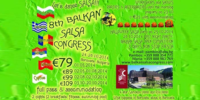 8th Balkan Salsa Congress