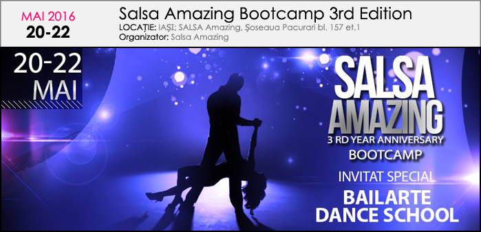SALSA AMAZING BOOTCAMP ANIVERSAR 3-Rd Edition
